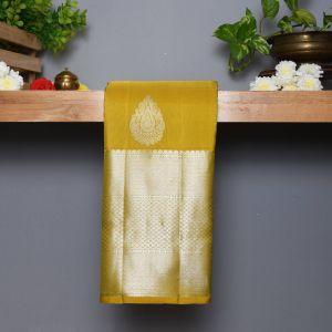 Sampangi Green Coloured Kanchipuram Silk Saree