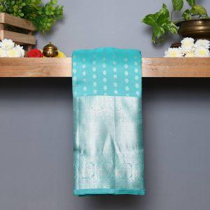 Rexona Green Coloured Kanchipuram Silk Saree