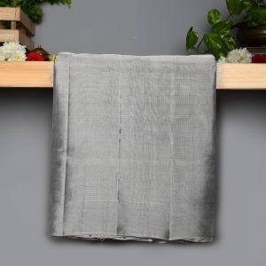 Silver Tissue Kanchipuram  Pure  Silk  Saree