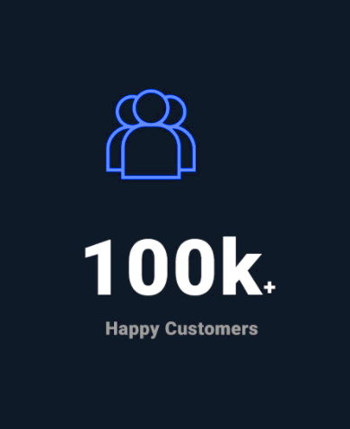 100k Happy Customers